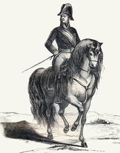 Joaquín Blake, futuro capitán general de los Ejércitos del Reino de Galicia, será uno de los primeros regentes de una España sin rey
