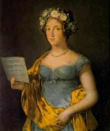 Laura Permon, esposa de Junot, futura duquesa de Abrantes