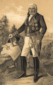 """Manuel Godoy, atlántico extremeño, en un retrato de 1801. Cuando la llamada """"guerra de las naranjas"""""""
