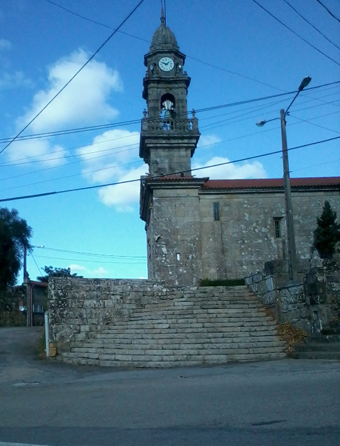 La Iglesias parroquial de Mourente