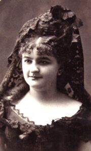 Emilia Pardo Bazán jovencita
