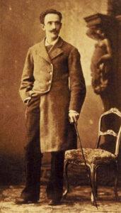 Retrato de José Quiroga Pérez de Deza, esposo de Emilia y padre de Jaime, Blanca y Carmen Quiroga Pardo-Bazán