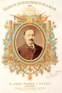 Retrato de José Pardo Bazán, padre de Emilia