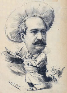 Caricatura de Ángel Muro