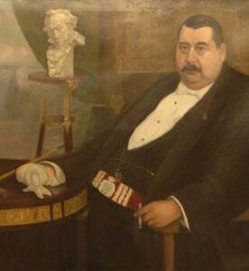Retrato de don Manuel Puga, por Manuel Abelenda