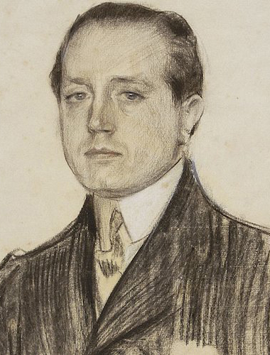 José Martínez Ruiz, Azorín en el retrato de Ramón Casas