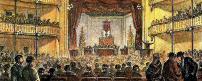 El Congreso Obrero de 1870 se celebró en el Teatro Circo de Barcelona