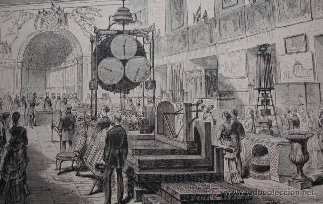Exposición de la Sociedad Fomento de las Artes en 1871