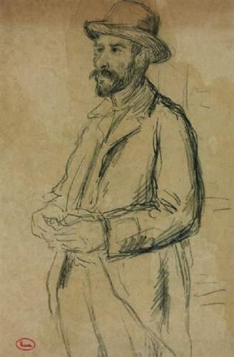 Augustin Hamon, retrato de Maximilien Luce