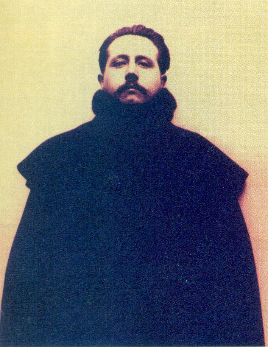 Retrato de José Martínez Ruiz en sus años de escritor revolucionario