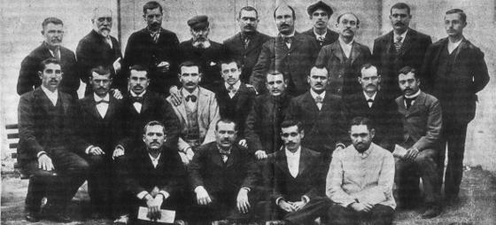 Presos indultados en 1900 tras la revisión de los procesos de Montjuich