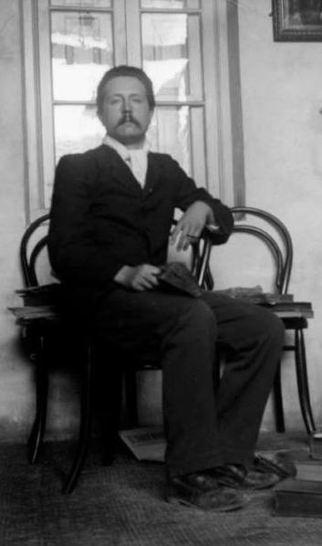 José Martínez Ruiz por aquellos años