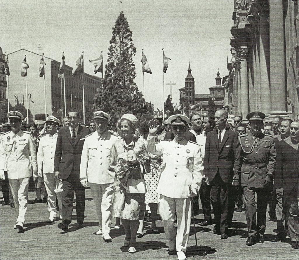 Franco en Zaragoza