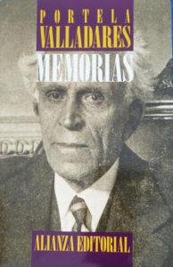 Memorias de Portela Valladares
