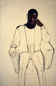 Neel. Black Draftee (James Hunter)], 1965