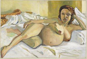 Neel. Pregnant Maria, 1964