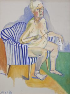Neel. Self-Portrait, 1980